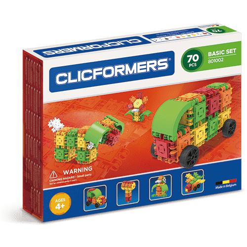 Clicformers Basic Set 70 pieces