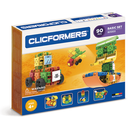 Clicformers Basic Set 90 pieces