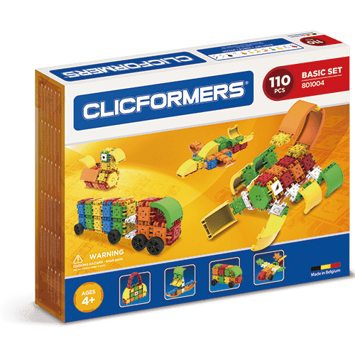 Clicformers Basic Set 110 pieces