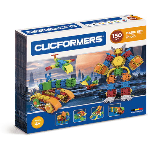 Clicformers Basic Set 150 pieces
