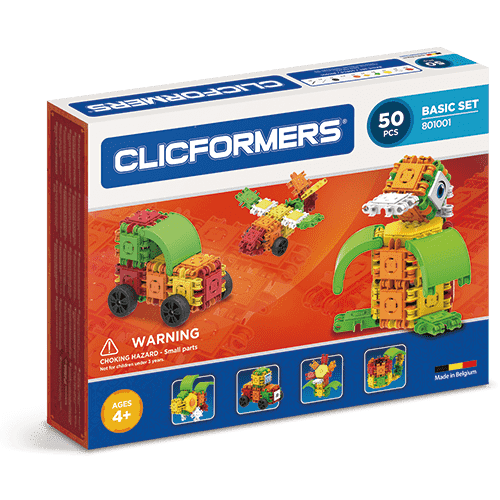Clicformers Basic Set 50 pieces